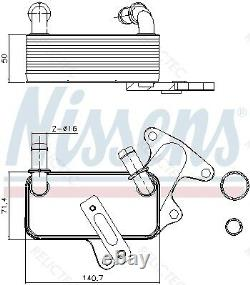 Automatic Transmission Gearbox Oil Cooler VWJETTA IV 4 09G409061E